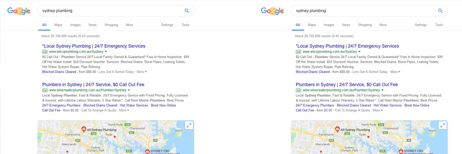 PPC ads for plumbers